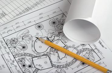 Rolls of drawings