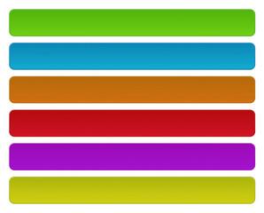 Set boutons colorés