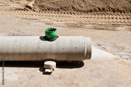 einbringung einer abzweigung in ein kanalrohr aus beton. Black Bedroom Furniture Sets. Home Design Ideas