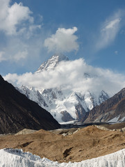 K2 in the Karakorum, Pakistan