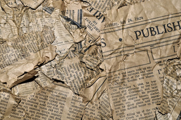 Papiers peints Journaux Old Newspaper Background