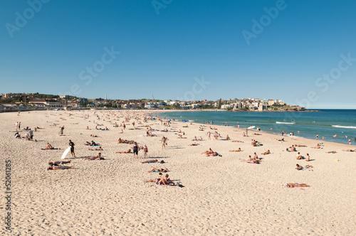 Bondi beach view