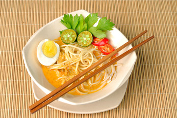 Delicious Malaysia Curry Noodle