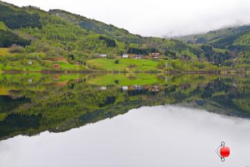 Lac en Norvège