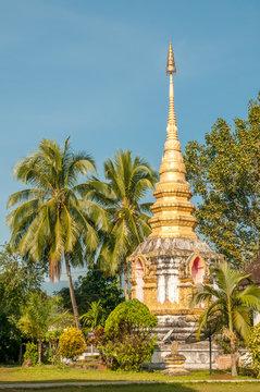 Stupa in Chiang Khong