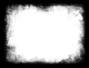 Contorno, cornice, frame in bianco e nero