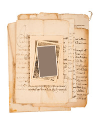 Letters and pictures