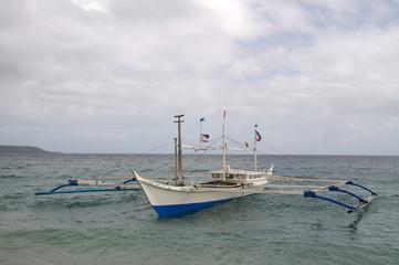 Banca, embarcacion tipica de Filipinas