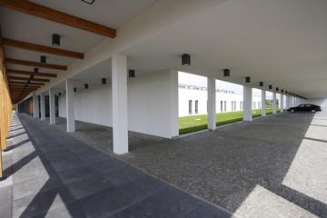 Obraz architektura współczesna- parking - fototapety do salonu