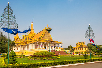 King Palce in Phnom Penh