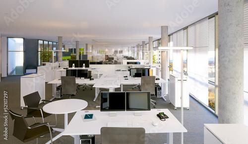 Gro raumb ro open space office stockfotos und for Bureau open space