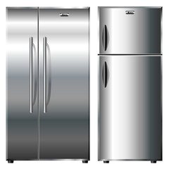 Metalic refrigerators