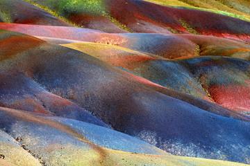 Seven colored land Fototapete