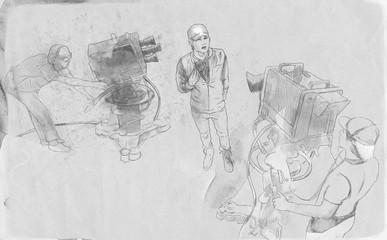 The art of film: Do an interview