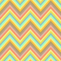 Poster ZigZag Seamless chevron background pattern