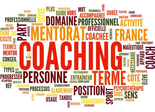 Coaching (tag cloud français)