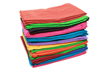 pack of colorful clothes