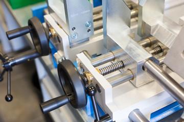 Levers of machine