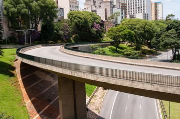 Viaduct in sao paulo
