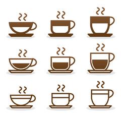 Set coffee cups