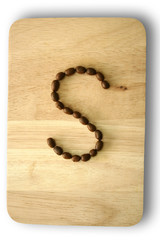 The Coffee beans letter