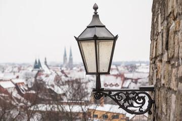 alte Leuchte Straßenlampe