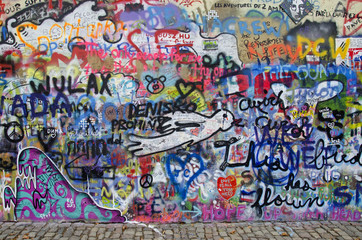 Strassenkunst - Graffiti 5 (Prag)