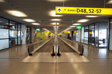 Papiers peints Aeroport Escalator