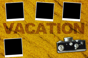 Vacations Background (pictures with empty space for your text)