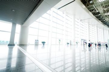 Photo sur Toile Aeroport Interior of the airport