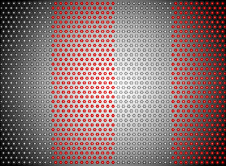 Abstract steel vector background