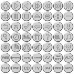Set bottoni multimediali audio/video 2