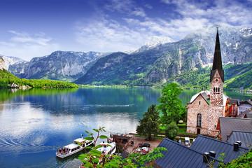 Hallstatt - beauty of Alps. Austria