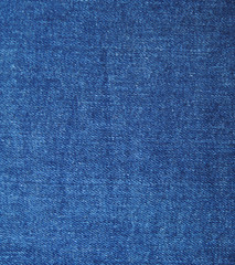 High resolution scan of blue denim fabric.