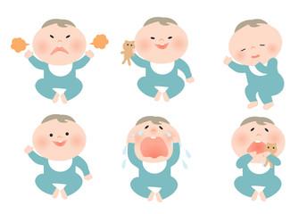 色々な赤ちゃん