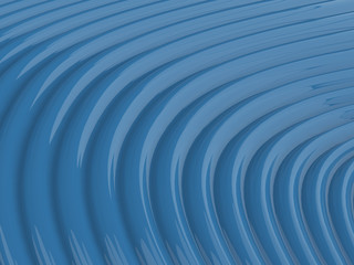 Abstract shiny blue wave pattern background illustration