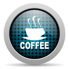 coffee glossy icon