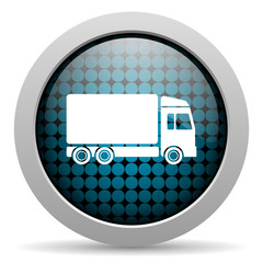 delivery glossy icon