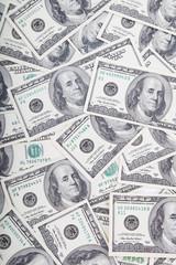 Hundred Dollar Bills for background.