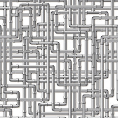 Silver Pipes Background