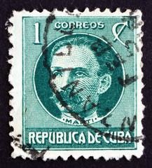 Postage stamp Cuba 1917 Jose Marti, Revolutionary