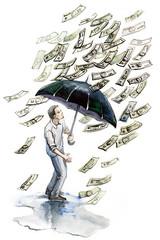 money rain,