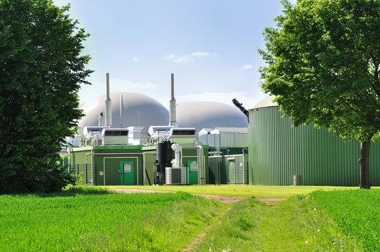 Bio fuel plant.