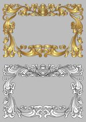 Balinese Frame Ornament 2c
