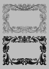 Balinese Frame Ornament 2a