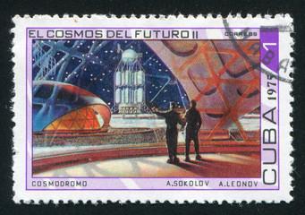 Cosmodrome by Andrei Sokolov and Alexei Leonov