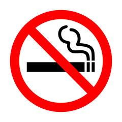 Garden Poster Smoke No smoking sign