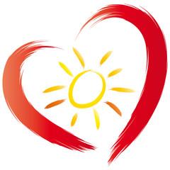Die Sonne im Herzen tragen