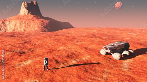 Mission habitée vers Mars — Wikipédia