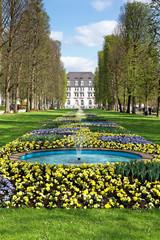 Kurpark Bad Pyrmont, Deutschland